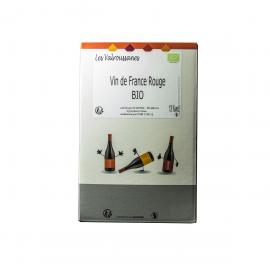 Vin de France Rouge issu de l'agriculture biologique 2010 - Bag in Box De 5 Litres